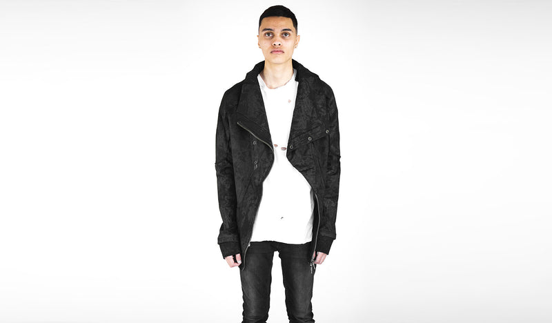 Preach Hank Mens Asymmetrical Jacket