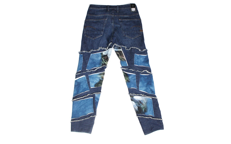 G-Star RAW Spiraq RFTP Patch Jeans 'Water' (D10836-9436-071)