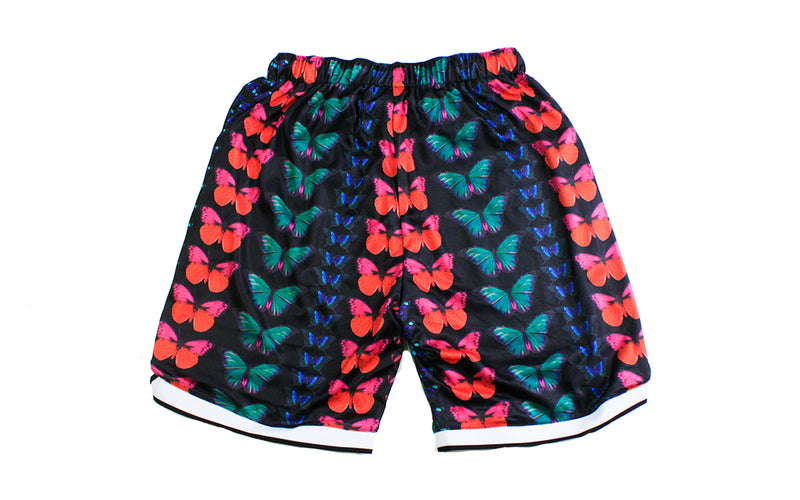Pleasures Butterfly Shorts (P19P105019)
