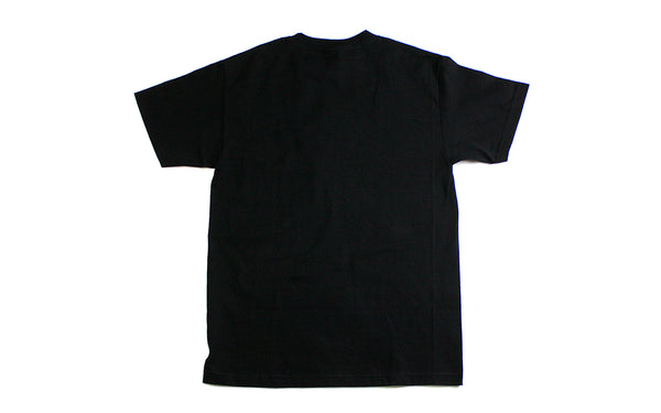 Pleasures Core Logo T-Shirt (P19P101036-BLK)