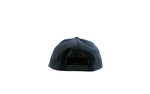 Pleasures Core Logo Snapback (P19P106049-BLK)