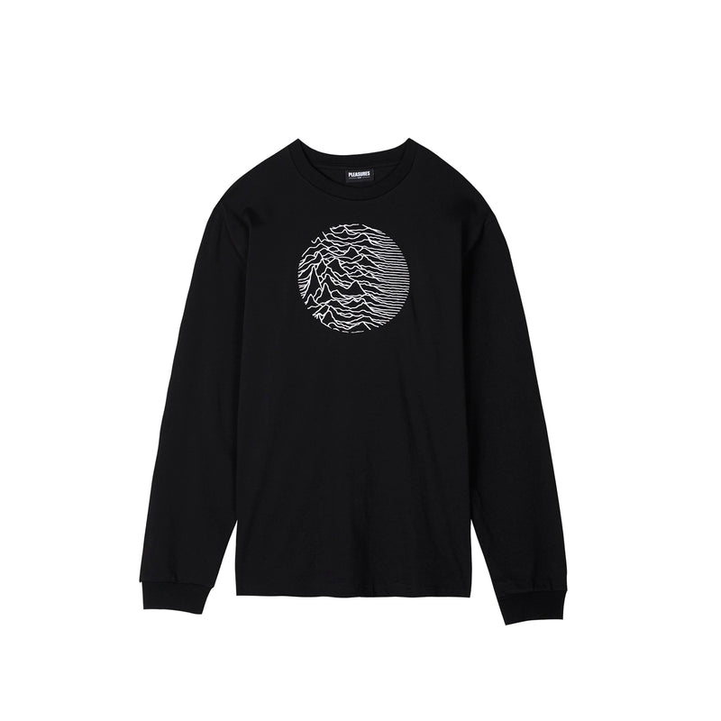 Pleasures Mens Joy Division Lost Control Long Sleeve Tee