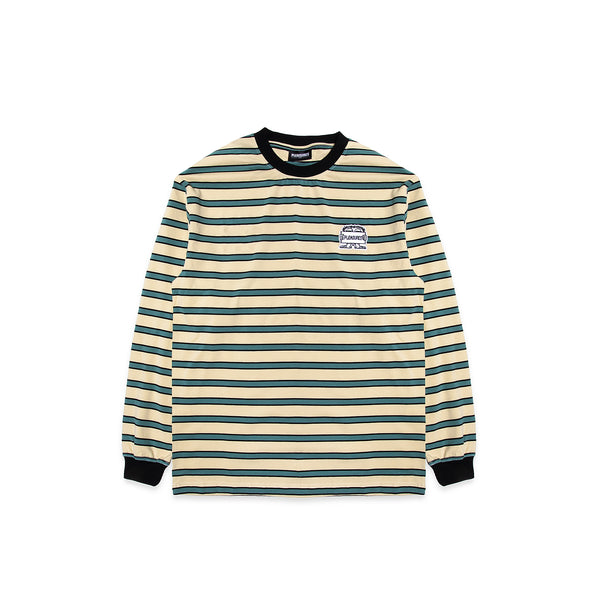 Pleasures Mens Hangman Striped Long sleeve Tee