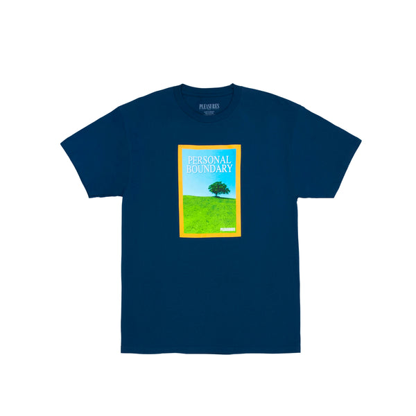 Pleasures Mens Boundary Tee