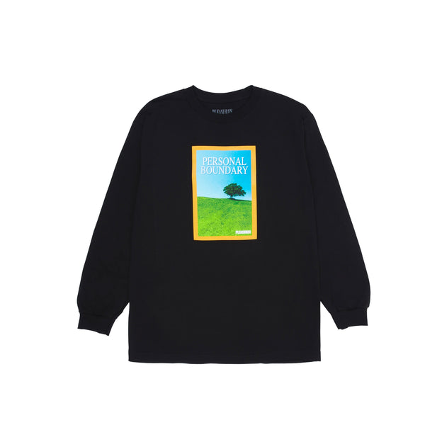 Pleasures Mens Boundary Long Sleeve Tee