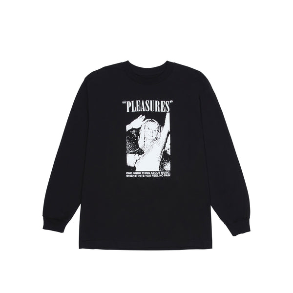 Pleasures Mens One Night Long Sleeve Tee