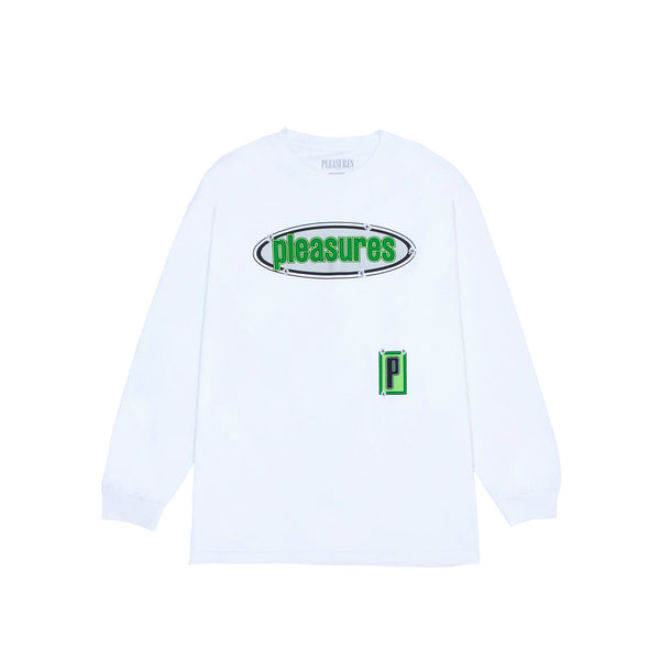 Pleasures Mens Eazy Long Sleeve Tee