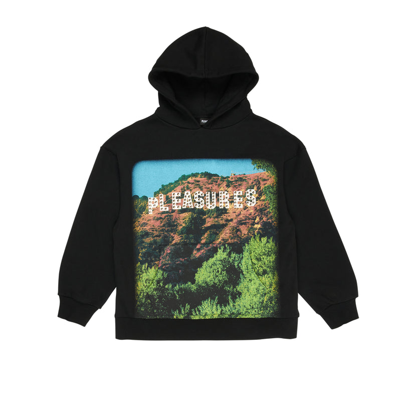 Pleasures Mens Pleasurewood Studded Hoodie