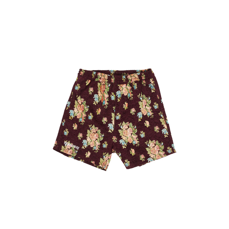 Pleasures Mens Dejavu Floral Woven Shorts