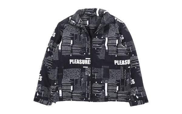 PLEASURES Poems Puffer Jacket (P19F103022-2)