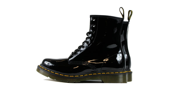 Dr. Martens Womens 1460 Patent Lamper Shoes