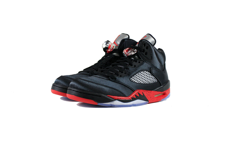 Air Jordan 5 Retro Satin 'Bred' (136027-006)