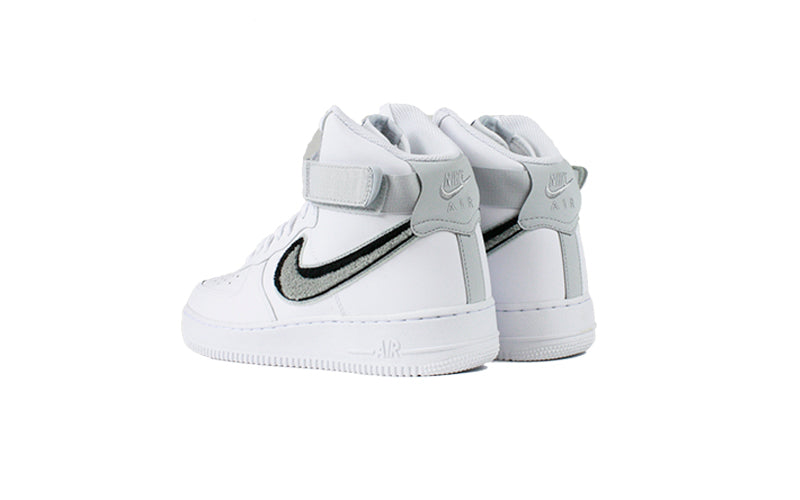 finest selection 39056 bc233 Nike Air Force 1 High 07 LV8 Chenille Swoosh (806403-105)