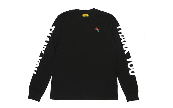 Chinatown Market Thank You LS Tee (CMF17-TYLS-BLK)