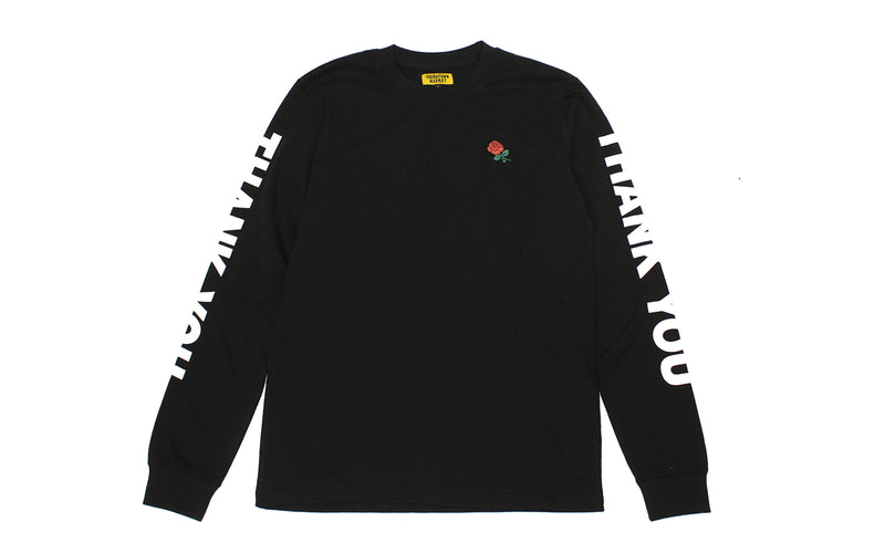 Chinatown Market Thank You Long Sleeve (CMF17-TYLS-BLK)