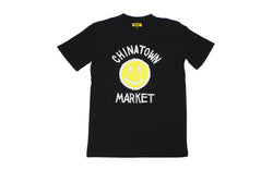 Chinatown Market Smiley Logo Chain T-Shirt (CTM-SLCT-BLK)