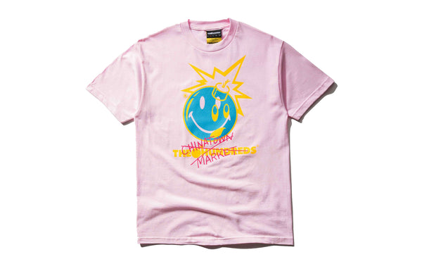 The Hundreds x Chinatown Market Crossout Adam T-Shirt (L18W201032-PNK)