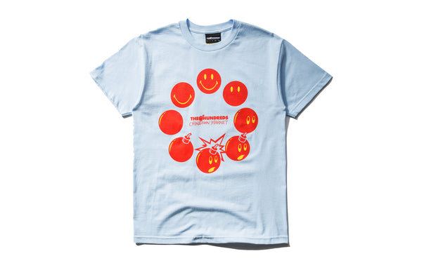 The Hundreds x Chinatown Market Cycle Adam SS Tee (L18W201035-PBLU)