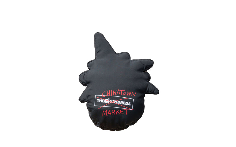 The Hundreds x Chinatown Market Happy Adam Pillow (L18W207038-BLK)