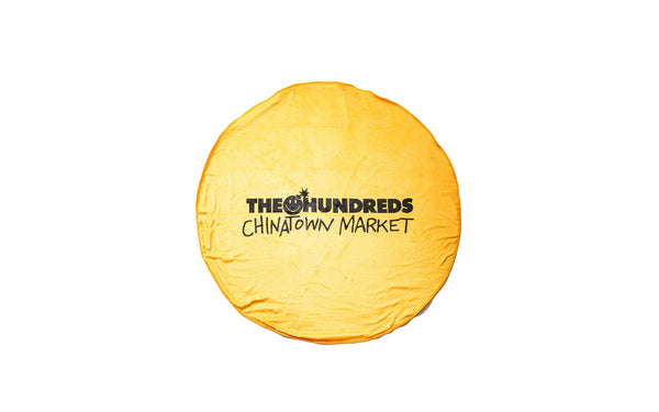 The Hundreds x Chinatown Market Happy Blanket (L18W207045-YLW)