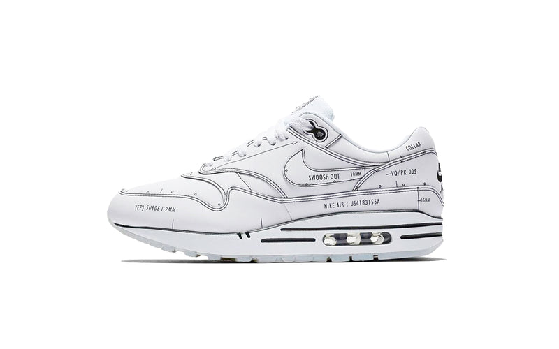 "Nike Mens Air Max 1 ""Schematic"" Shoes"