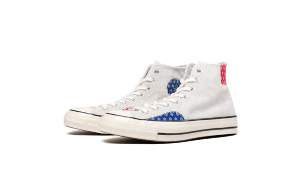 Converse Mens Chuck 70 HI Patchwork Shoes