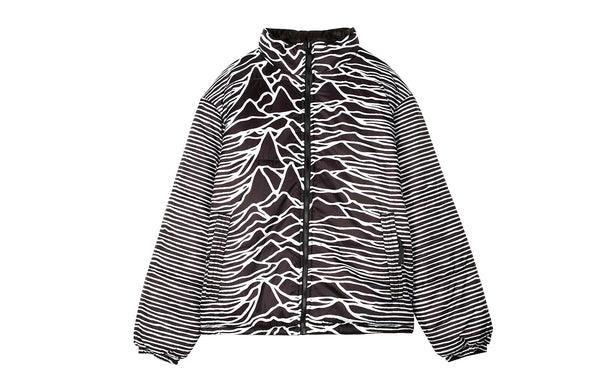 PLEASURES Joy Division Disorder Puffer Jacket (P19JD006)