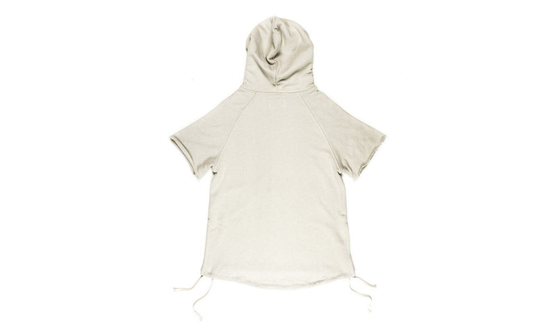 RISE barksdale short sleeve hoodie (sand) (CH-KN1001S)