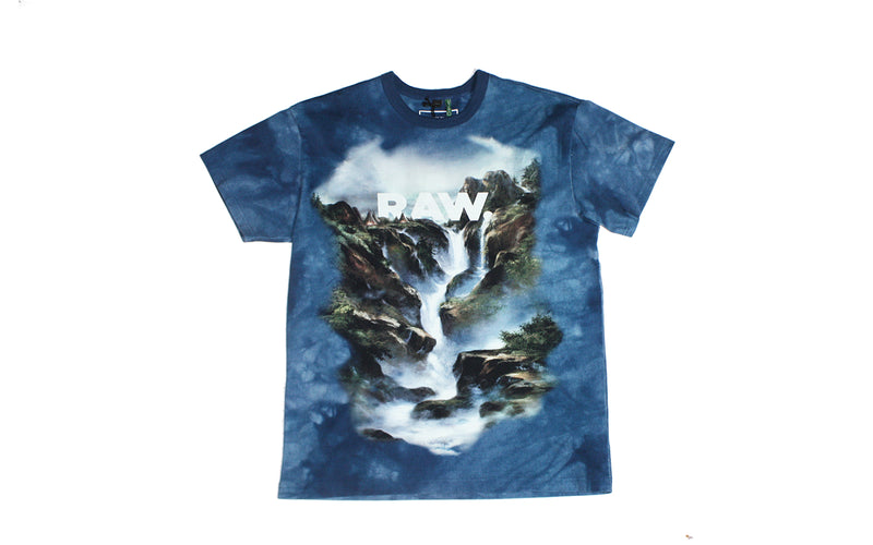 G-Star RAW Cyrer Loose S/S T-Shirt 'Water' (D10798-A629-9839)