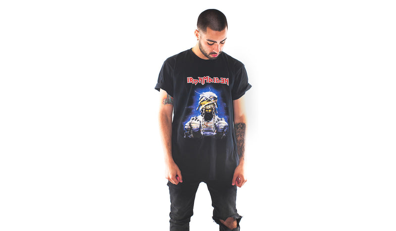 "RISE greatest hits ""2 mins to midnite"" oversized tee (RISE-HITS-2MINS)"