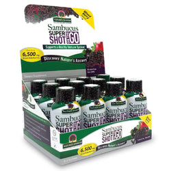 Sambucus Shot on the Go (12 pack) of 2oz, Alcohol Free
