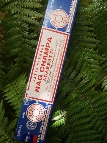 Satya Nag Champa Incense - 15 Gram Pack (12 sticks) - Life Gardening Tools LLC