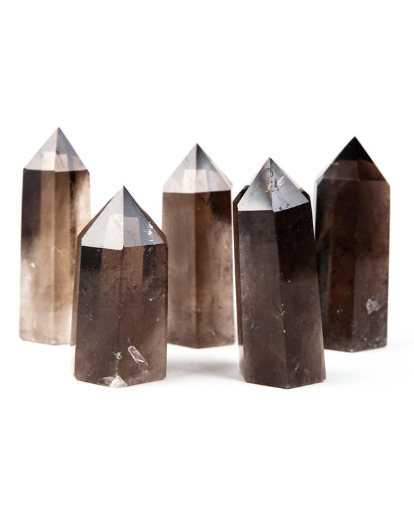 Smoky Quartz (Pointed Tower) - Life Gardening Tools LLC