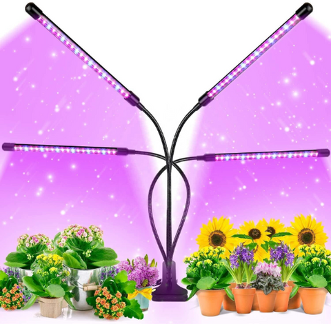 80W Auto ON/Off Timer Full Spectrum Plant Lights - Life Gardening Tools LLC