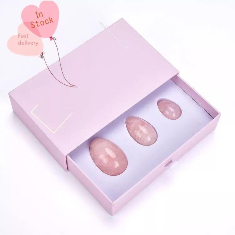 Rose Quartz Yoni Egg | Strengthen Your Vaginal Walls - Life Gardening Tools LLC