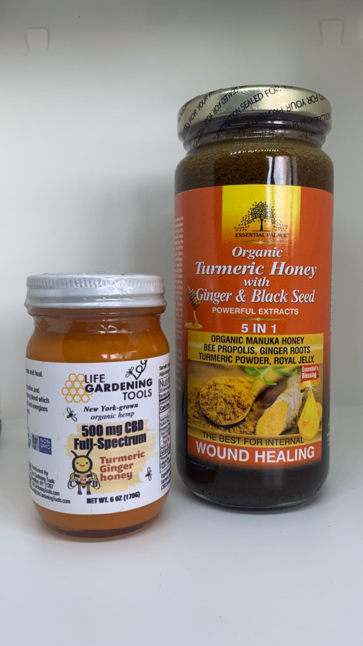 Turmeric Honey Pack - Life Gardening Tools LLC