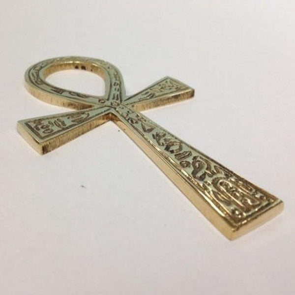BRASS ANKH 4inches - Life Gardening Tools LLC