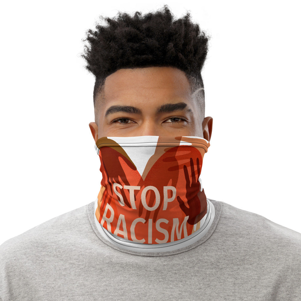 Stop Racism Facial Mask Neck Gaiter