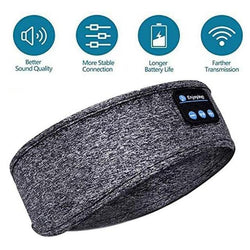 Bluetooth Music Headband Knits Sleeping Headwear Headphone Speaker Headset Sleeping Music Headband