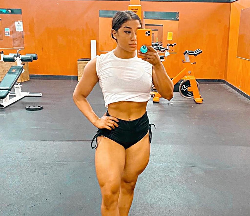 Young lady in the gym - Vivid Pods