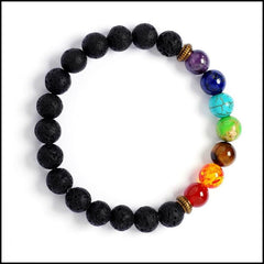 Pushone Chakra Gemstones Giving Bracelet 20 Meals to Needy Families