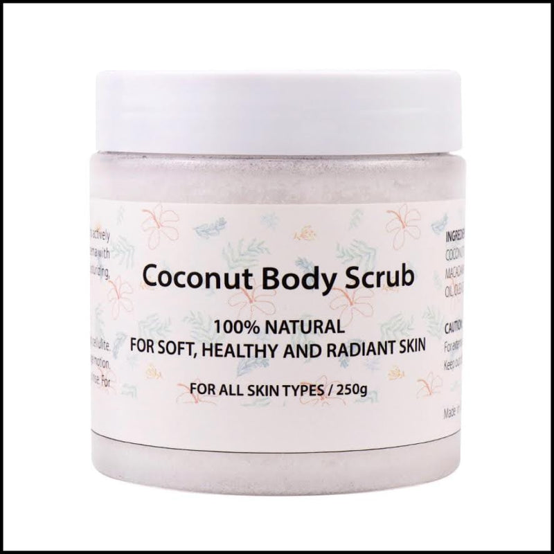 Pushone Coconut Body Scrub