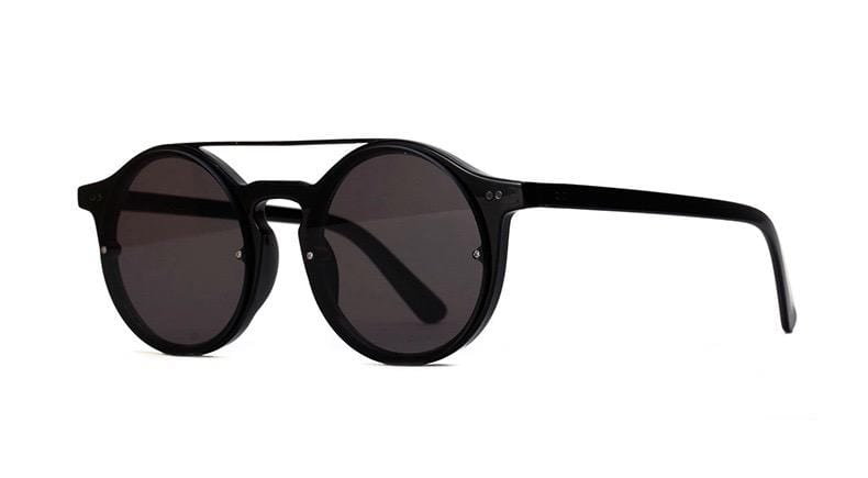 CHASE Acetate Round Fashion Sunglasses