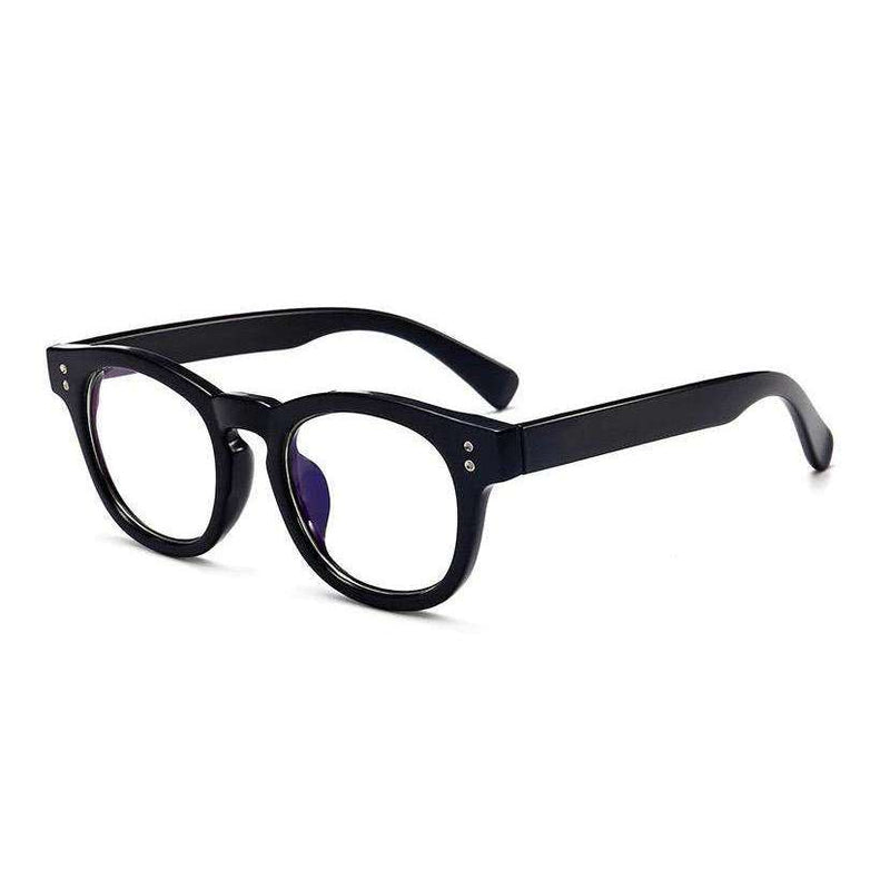 Daily Round Frame Blue Light Blocking Glasses