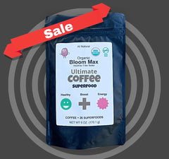 Pushone - Organic Bloom Max - Ultimate Coffee Superfoods