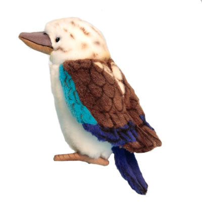 "6.7"" (17 cm) Blue Winged Kookaburra [plush toy]"