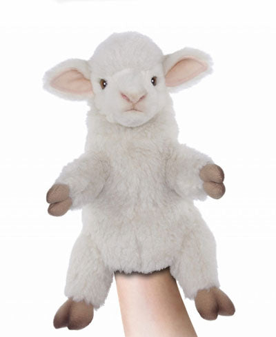 "10.5"" (27 cm) Lamb Puppet [plush toy]"