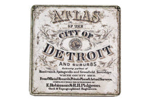 Load image into Gallery viewer, Vintage Detroit Atlas Coaster