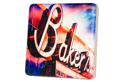 Baker's Lounge Coaster