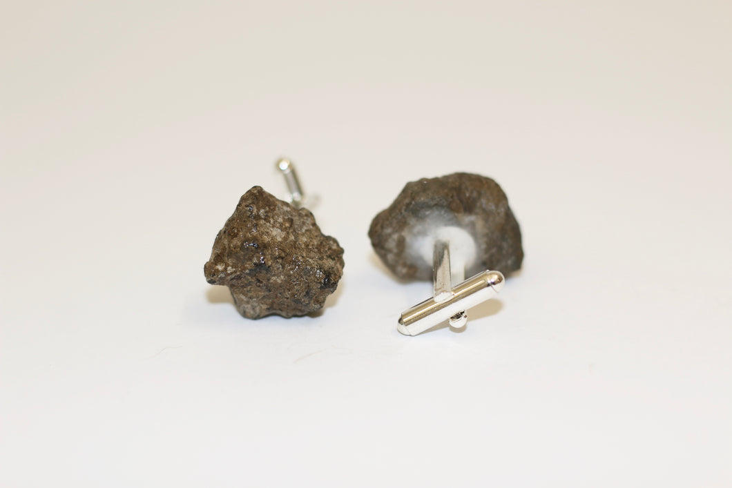 Polished Concrete Cufflinks